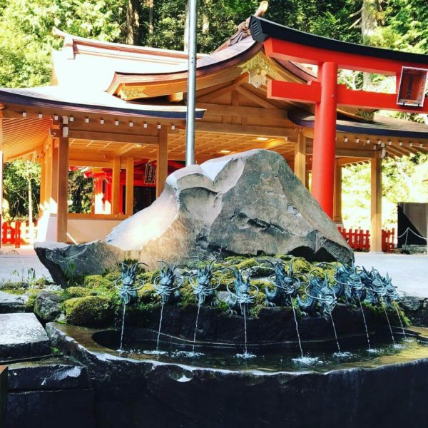 箱根 九頭竜神社 HAKONE